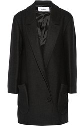 Chalayan Wool Blend Coat Gray
