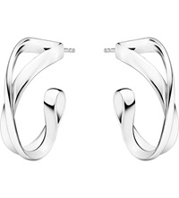 Georg Jensen Infinity Sterling Silver Earrings