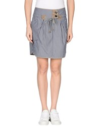 Gunex Skirts Mini Skirts Women Slate Blue
