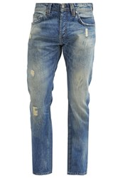 Ltb Hollywood Straight Leg Jeans Dakota Wash Bleached Denim