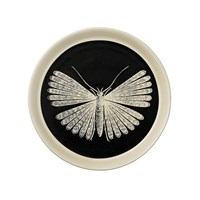 Day Birger Et Mikkelsen Moth Plate Black With Ivory Moth