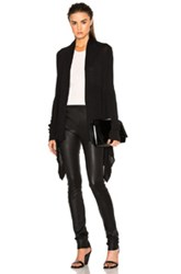 Rick Owens Classic Knit Wrap In Black