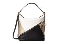 Jessica Simpson Bella Bucket Hobo White Hobo Handbags