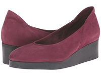 Arche Habba Berry Women's Wedge Shoes Burgundy
