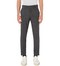 Tiger Of Sweden Gordon Slim Fit Wool Blend Trousers Grey