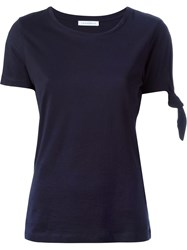 J.W.Anderson J.W. Anderson Sleeve Knot T Shirt Blue