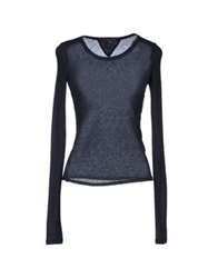 Theyskens' Theory Sweaters Dark Blue