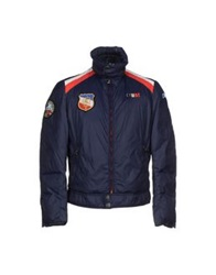Crust Down Jackets Dark Blue