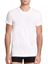 2Xist Pima Cotton Crewneck Tee White