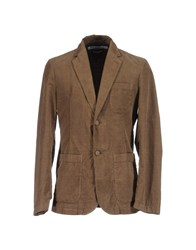 Department 5 Suits And Jackets Blazers Men Camel