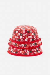 Bernstock Speirs Flower Hat Red