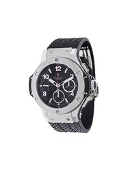 Hublot 'Big Bang Evolution' Analog Watch Black