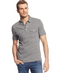 Inc International Concepts Stenta Polo Heather Grey