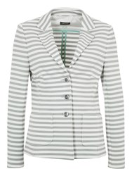 Basler Stripe 3 Button Blazer Multi Coloured