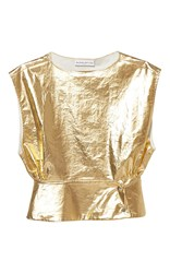 Wanda Nylon Dany Metallic Top Gold