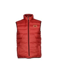 Alviero Martini 1A Classe Down Jackets Red