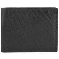 John Lewis Bifold Katta Aniline Leather Wallet Black