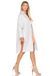 Finders Keepers Great Heights Coat White