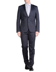 Paoloni Suits Dark Blue