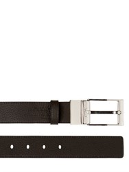 Bally 35Mm Reversible Dauphine Leather Belt