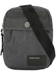 Diesel 'De Keep' Shoulder Bag Grey