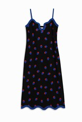 Victoria Beckham Scattered Strawberry Dress Multi