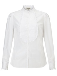 Alice By Temperley Somerset By Alice Temperley Bib Front Shirt White