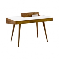 Corian And Walnut Desk Tables And Desks Furniture Department The Conran Shop