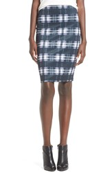 Whitney Eve 'Saguaro' Pencil Skirt School Girl Plaid