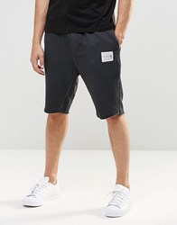 Religion Oil Wash Jersey Shorts Washed Black