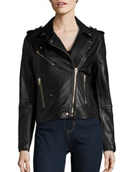 Blank Nyc Leather Moto Jacket The One