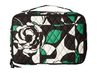 Vera Bradley Large Blush Brush Makeup Case Imperial Rose Cosmetic Case Multi