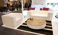 Vondom Vela Round Coffee Table Lacquered