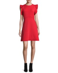 Opening Ceremony William Sleeveless A Line Dress Blaze Red