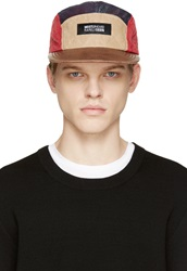 Mostly Heard Rarely Seen Plaid Quilted 5 Panel Cap
