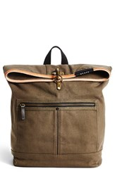 Men's State Bags 'Smith' Backpack Green Olive
