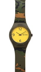 Jack Spade Camo Rubber Band Watch