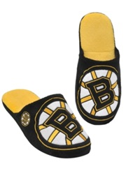 Forever Collectibles Men's Boston Bruins Big Logo Slippers