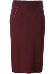 Humanoid 'Chara Coupled' Skirt Red
