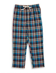Original Penguin Flannel Pajama Pants Blue