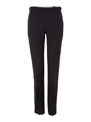 Corsivo Sapri Tuxedo Trousers With Satin Detail Midnight