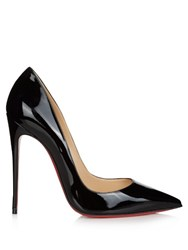 Christian Louboutin So Kate 120Mm Patent Leather Pumps Black