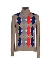 Ballantyne Turtlenecks Beige