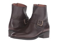 Frye Hannah Engineer Chocolate Soft Full Grain Women's Boots Brown