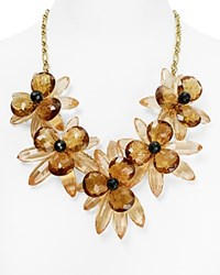 Kate Spade New York Blooming Brilliant Statement Necklace 22 Pink