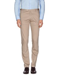 Hotel Trousers Casual Trousers Men Beige