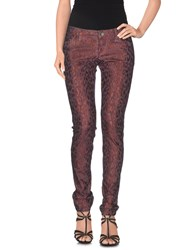 Guess Denim Denim Trousers Women Deep Purple