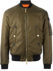 Dsquared2 'Military' Bomber Jacket Green