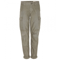 Rag And Bone Combat Cotton Cargo Trousers Distressed Army