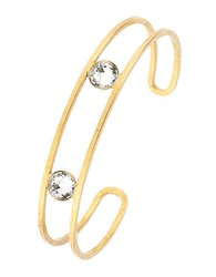 Gerard Yosca Double Cuff Headlight Bracelet Gold
